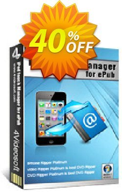 4Videosoft iPod touch Manager for ePub Coupon discount 4Videosoft iPod touch Manager for ePub awesome promo code 2020 - awesome promo code of 4Videosoft iPod touch Manager for ePub 2020