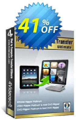 4Videosoft iPad to Computer Transfer Ultimate Coupon, discount 4Videosoft iPad to Computer Transfer Ultimate wondrous promo code 2019. Promotion: wondrous promo code of 4Videosoft iPad to Computer Transfer Ultimate 2019