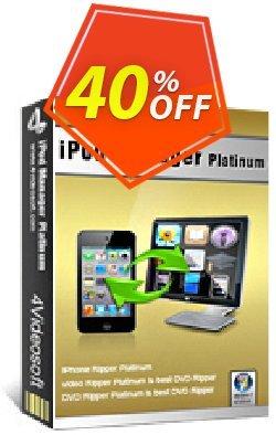 4Videosoft iPod Manager Platinum Coupon, discount 4Videosoft iPod Manager Platinum best offer code 2020. Promotion: best offer code of 4Videosoft iPod Manager Platinum 2020