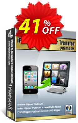 4Videosoft iPhone to Computer Transfer Ultimate Coupon, discount 4Videosoft iPhone to Computer Transfer Ultimate big discount code 2019. Promotion: big discount code of 4Videosoft iPhone to Computer Transfer Ultimate 2019