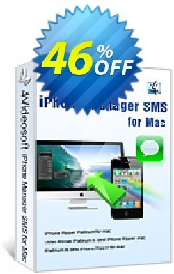 4Videosoft iPhone Manager SMS for Mac Coupon, discount 4Videosoft iPhone Manager SMS for Mac hottest discount code 2019. Promotion: hottest discount code of 4Videosoft iPhone Manager SMS for Mac 2019