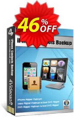 4Videosoft iPhone Contacts Backup Coupon, discount 4Videosoft iPhone Contacts Backup best discount code 2019. Promotion: best discount code of 4Videosoft iPhone Contacts Backup 2019