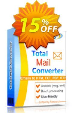 Coolutils Total Mail Converter - Site License  Coupon discount 15% OFF Coolutils Total Mail Converter (Site License), verified - Dreaded discounts code of Coolutils Total Mail Converter (Site License), tested & approved