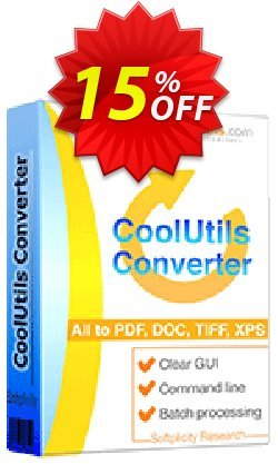 All-in-one Coolutils Converter Coupon, discount 15% OFF All-in-one Coolutils Converter, verified. Promotion: Dreaded discounts code of All-in-one Coolutils Converter, tested & approved