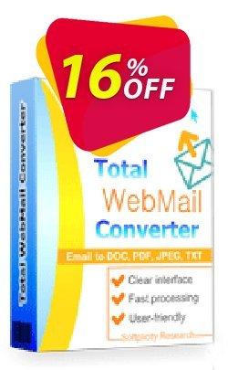 Coolutils Total Webmail Converter Coupon, discount 15% OFF Coolutils Total Webmail Converter, verified. Promotion: Dreaded discounts code of Coolutils Total Webmail Converter, tested & approved