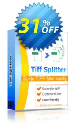 TiffSplitter Coupon, discount 30% OFF JoyceSoft. Promotion: