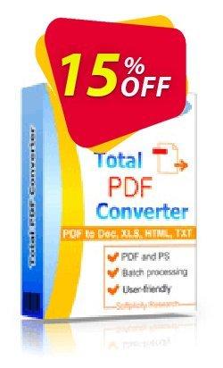 Coolutils Total PDF Converter - Server License  Coupon, discount 15% OFF Coolutils Total PDF Converter Server License, verified. Promotion: Dreaded discounts code of Coolutils Total PDF Converter Server License, tested & approved