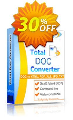 Coolutils Total Doc Converter - Commercial License  Coupon discount 30% OFF Coolutils Total Doc Converter (Commercial License), verified - Dreaded discounts code of Coolutils Total Doc Converter (Commercial License), tested & approved