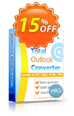 Coolutils Total Outlook Converter Pro - Site License  Coupon discount 15% OFF Coolutils Total Outlook Converter Pro (Site License), verified - Dreaded discounts code of Coolutils Total Outlook Converter Pro (Site License), tested & approved