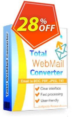 Coolutils Total Webmail Converter - Commercial License  Coupon, discount 27% OFF Coolutils Total Webmail Converter (Commercial License), verified. Promotion: Dreaded discounts code of Coolutils Total Webmail Converter (Commercial License), tested & approved