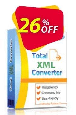 Coolutils Total XML Converter - Commercial License  Coupon discount 15% OFF Coolutils Total XML Converter, verified - Dreaded discounts code of Coolutils Total XML Converter, tested & approved
