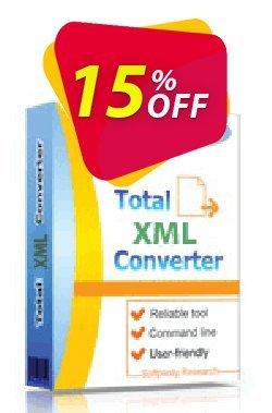 Coolutils Total XML Converter - Site License  Coupon discount 15% OFF Coolutils Total XML Converter, verified - Dreaded discounts code of Coolutils Total XML Converter, tested & approved