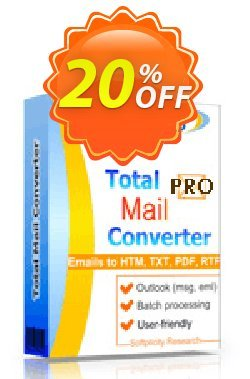 Coolutils Total Mail Converter Pro - Commercial License  Coupon discount 20% OFF Coolutils Total Mail Converter Pro (Commercial License), verified. Promotion: Dreaded discounts code of Coolutils Total Mail Converter Pro (Commercial License), tested & approved