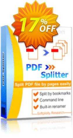 PDFSplitter Coupon, discount 30% OFF JoyceSoft. Promotion: