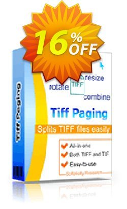 Tiff Paging Coupon, discount 30% OFF JoyceSoft. Promotion: