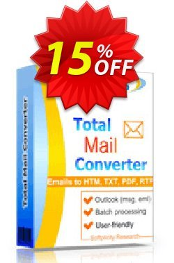 Total Mail Converter Coupon, discount 30% OFF JoyceSoft. Promotion:
