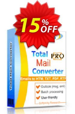 Total Mail Converter Pro Coupon, discount 30% OFF JoyceSoft. Promotion: