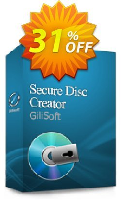 GiliSoft Secure Disc Creator Lifetime Coupon, discount Gilisoft Secure Disc Creator  - 1 PC / Liftetime free update staggering discounts code 2020. Promotion: