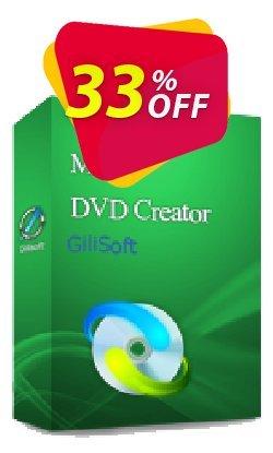 GiliSoft Movie DVD Creator Lifetime Coupon, discount Movie DVD Creator  - 1 PC / Liftetime free update amazing discounts code 2020. Promotion: