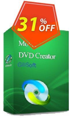 GiliSoft Movie DVD Creator 3PC/Lifetime Coupon, discount Movie DVD Creator  - 3 PC / Liftetime free update marvelous deals code 2020. Promotion: marvelous deals code of Movie DVD Creator  - 3 PC / Liftetime free update 2020
