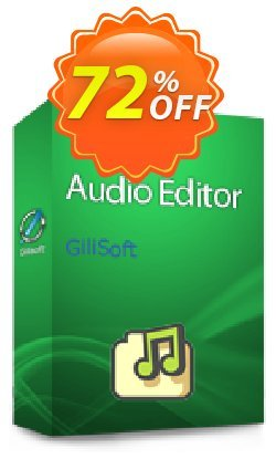 GiliSoft Audio Editor - Lifetime/3 PC Coupon, discount Audio Editor - 3 PC / Liftetime free update stirring promo code 2019. Promotion: stirring promo code of Audio Editor - 3 PC / Liftetime free update 2019