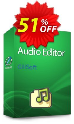 GiliSoft Audio Editor Coupon, discount Audio Editor  - 1 PC / 1 Year free update fearsome promotions code 2020. Promotion: staggering deals code of Audio Editor  - 1 PC / 1 Year free update 2020