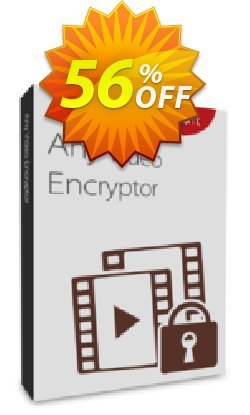 Any Video Encryptor Lifetime Coupon, discount Any Video Encryptor  - 1 PC / Liftetime free update fearsome promotions code 2020. Promotion: staggering deals code of Any Video Encryptor  - 1 PC / Liftetime free update 2020