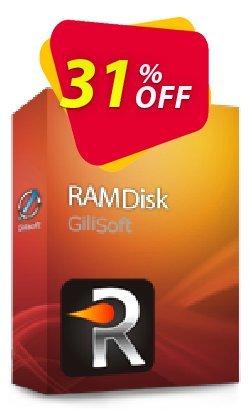 GiliSoft RAMDisk Coupon, discount Gilisoft RAMDisk  - 1 PC / Liftetime free update stunning deals code 2020. Promotion: