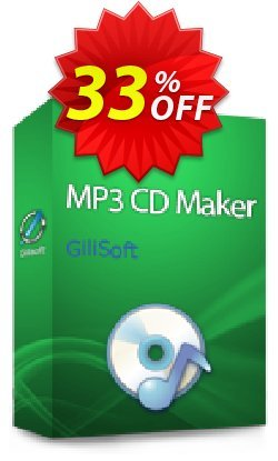 GiliSoft MP3 CD Maker Coupon, discount uninstall discount. Promotion: