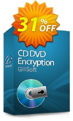 GiliSoft CD DVD Encryption Coupon, discount uninstall discount. Promotion: