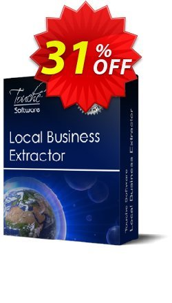 Local Business Extractor Coupon, discount 25% Discount Touche Software (22387). Promotion: 25% Discount Touche Software (22387)