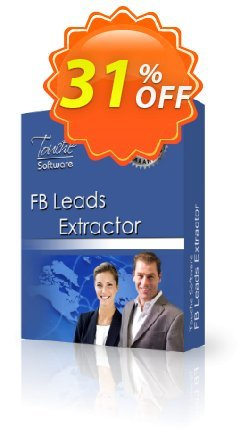 FB Leads Extractor Coupon, discount 25% Discount Touche Software (22387). Promotion: