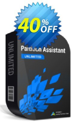AOMEI Partition Assistant Unlimited + Free Lifetime Upgrade Coupon, discount pa unlimited 65% off for reseller onetime. Promotion: Available in my store and any affiliate store 30% off
