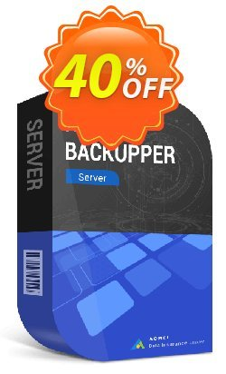 AOMEI Backupper Server Edition Coupon, discount 30% off for all products christmas. Promotion: