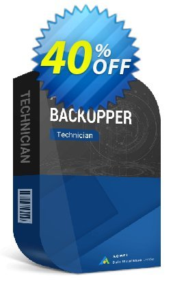 AOMEI Backupper Technician + Lifetime Upgrades Coupon, discount AOMEI Backupper Technician + Lifetime Free Upgrades wondrous promotions code 2020. Promotion: