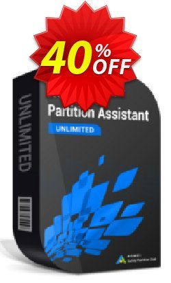 AOMEI Partition Assistant Unlimited Coupon, discount AOMEI Partition Assistant Unlimited staggering promo code 2021. Promotion: