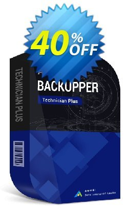 AOMEI Backupper Technician Plus (2-Year License) Coupon, discount 60% off all items for reseller. Promotion: