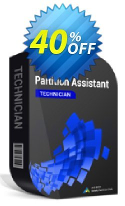 AOMEI Partition Assistant Technician Coupon, discount All Product for users 20% Off. Promotion: