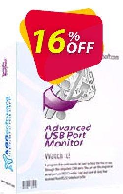 Aggsoft Advanced USB Port Monitor Coupon, discount Promotion code Advanced USB Port Monitor Standard. Promotion: Offer discount for Advanced USB Port Monitor Standard special at iVoicesoft