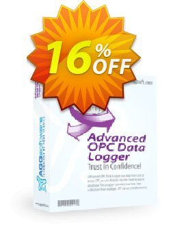 Aggsoft Advanced OPC Data Logger Coupon, discount Promotion code Advanced OPC Data Logger Standard. Promotion: Offer discount for Advanced OPC Data Logger Standard special at iVoicesoft