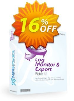 Aggsoft Log Monitor & Export Professional Coupon, discount Promotion code Log Monitor & Export Professional. Promotion: Offer Log Monitor & Export Professional special discount for iVoicesoft