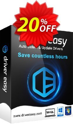 Driver Easy - 100 Computers License / 1 Year  Coupon discount Driver Easy 20% Coupon - impressive discount code of Driver Easy - 100 Computers License / 1 Year 2021