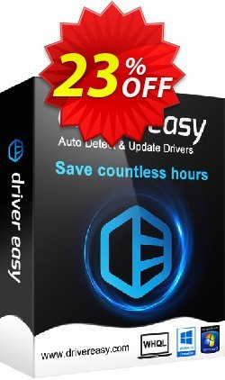 DriverEasy - 1 PC / 1 Year Coupon, discount Driver Easy 30% Offer. Promotion: DriverEasy PRO discount code