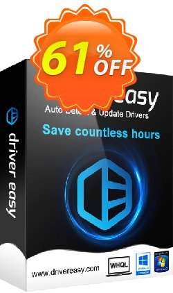 DriverEasy - 3 PC's / 1 Year Coupon, discount DriverEasy discount coupon 30% Offer. Promotion: DriverEasy promotion discount code