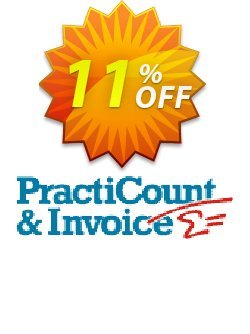 PractiCount and Invoice Coupon, discount Coupon code PractiCount and Invoice (Standard Edition). Promotion: PractiCount and Invoice (Standard Edition) offer from Practiline