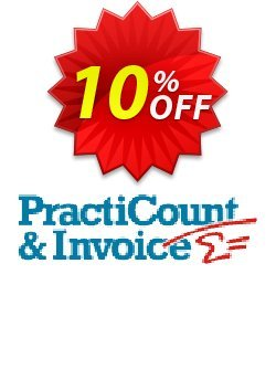 PractiCount and Invoice - Standard Edition - Site License  Coupon, discount Coupon code PractiCount and Invoice (Standard Edition - Site License). Promotion: PractiCount and Invoice (Standard Edition - Site License) offer from Practiline