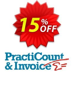 PractiCount and Invoice Enterprise Edition Coupon, discount Coupon code PractiCount and Invoice (Enterprise Edition) - 15% OFF. Promotion: PractiCount and Invoice (Enterprise Edition) - 15% OFF offer from Practiline