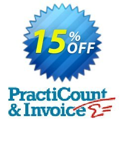PractiCount and Invoice - World License  Coupon, discount Coupon code PractiCount and Invoice (Standard Edition - World License) - 15% OFF. Promotion: PractiCount and Invoice (Standard Edition - World License) - 15% OFF offer from Practiline