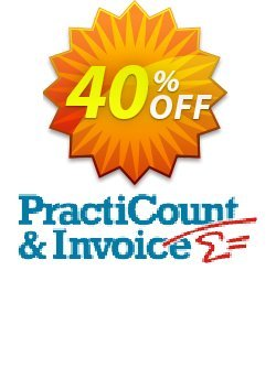 PractiCount and Invoice Business Edition Site License Coupon, discount Coupon code PractiCount and Invoice (Business Edition - Site License) - 40% OFF. Promotion: PractiCount and Invoice (Business Edition - Site License) - 40% OFF offer from Practiline