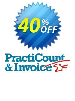 PractiCount and Invoice Business Edition World License Coupon, discount Coupon code PractiCount and Invoice (Business Edition - World License) - 40% OFF. Promotion: PractiCount and Invoice (Business Edition - World License) - 40% OFF offer from Practiline